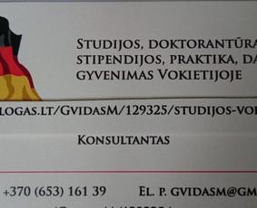 Verslo VOKIEČIŲ K. vertėjas. Kindergeld-Mokesč.-Skambinimas
