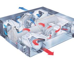 Rekuperacijos-Vėdinimo sistemos įrengimas