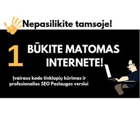 Profesionalių Internetinių Svetainių Kūrimas