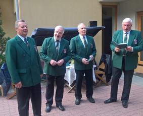 Vyrų kvartetas BIJŪNAI, chorinio dainavimo profesionalai.