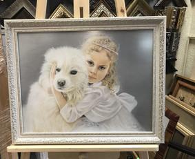 Portretų tapyba, paveikslų piešimas pagal užsakymą.
