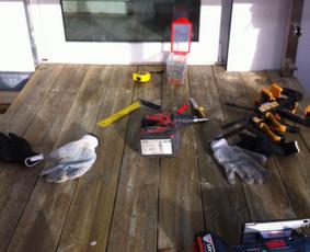 apdailos ir remonto darbai lauke bei viduje