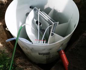 Nuotėkų valymo įrenginių montavimas