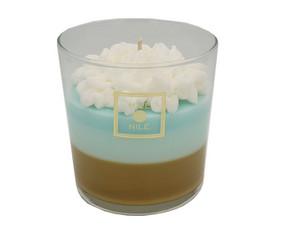 Rankų darbo aromatinės sojų vaško žvakės ir namų kvapai