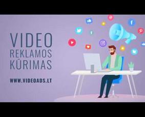 Video reklamos kūrimas, 2D animacija, vaizdo montažas