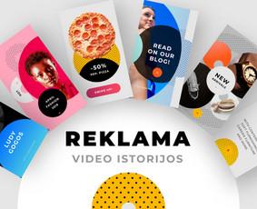 Instagram Istorijų (Story) video reklama
