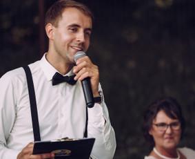 Renginių vedėjas Evaldas Jankantas kartu su DJ komanda