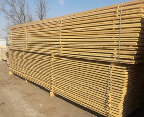 Kokybiška lietuviška statybinė, konstrukcinė mediena!