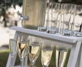 Šampano staliukas Panevėžy, Biržuose, Anykščiuose