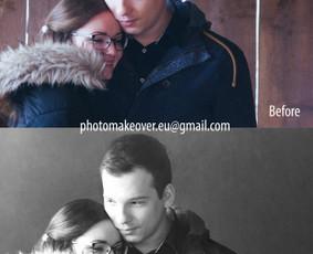 Nuotraukų koregavimas / retušavimas / fotomontažas