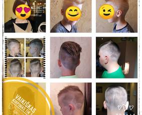 Plaukų dažymai, kirpimas, keratininis tiesinimas, garbanos,