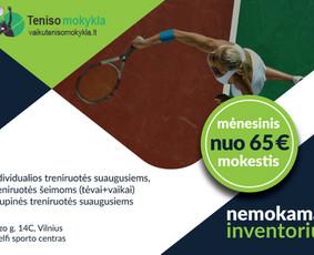 Teniso mokykla Vilniuje