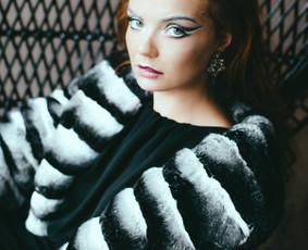 FurbySD prabangūs šinšilos kailio drabužiai ir aksesuarai