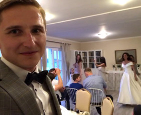 Renginių vedėjas Mažvydas