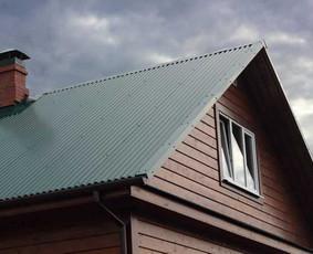 Dengiame ir renovuojame  šlaitinius stogus