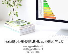 Energinis naudingumas. Architektūra. Projektavimas.