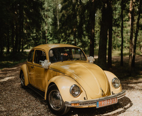 Senovinio vabalo kabrioleto nuoma visoje Lietuvoje