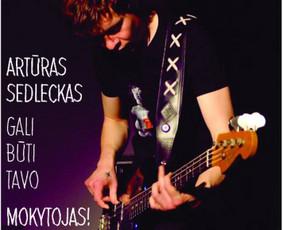 Gitaros pamokos/gitaros derinimo paslauga