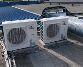 Kondicionavimas šaldymas vėdinimas montavimas ir remontas
