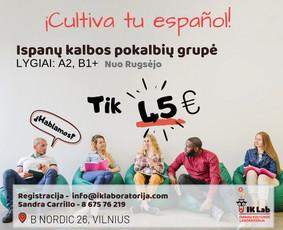 Siūlome ispanų kalbos pamokos