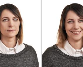 Verslo portretai su šypsena
