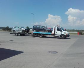 Pagalba kelyje, Auto transportavimas
