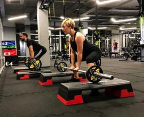 Asmeninis treneris Dovydas Hobby Fitness sporto klube