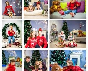 Kalėdinių fotosesijų rezervacija jau prasidėjo :)