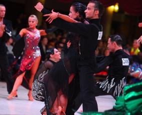 Profesionali šokėjų pora - Lukas ir Simona