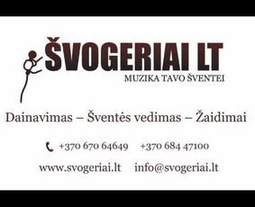Renginių vedėjas Švogeriai LT