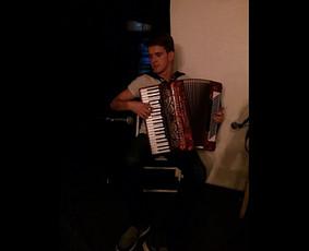 Muzikantas Vilniuje