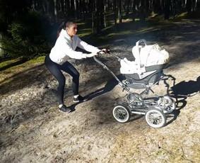 Sportas/mityba būsimoms - esamoms mamoms