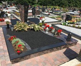 Kapų tvarkymas, Paminklai, Plokštės Vilniuje- Gaminame Patys