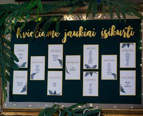 Vestuvių dekoravimas - ŠventėsGuru