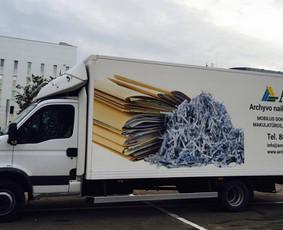 Mobilus dokumentų / archyvo naikinimas