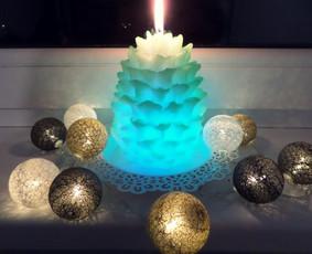 Lietuvių gamybos rankų darbo žvakės