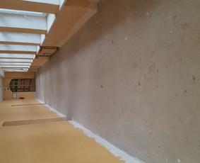 Tarkett (pvc)  ir  epoksidinių liejamos grindų dengimas.