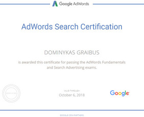 Google reklama smulkiam ir vidutiniui verslui