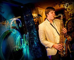 Saksofonistas Giedrius Stunžėnas