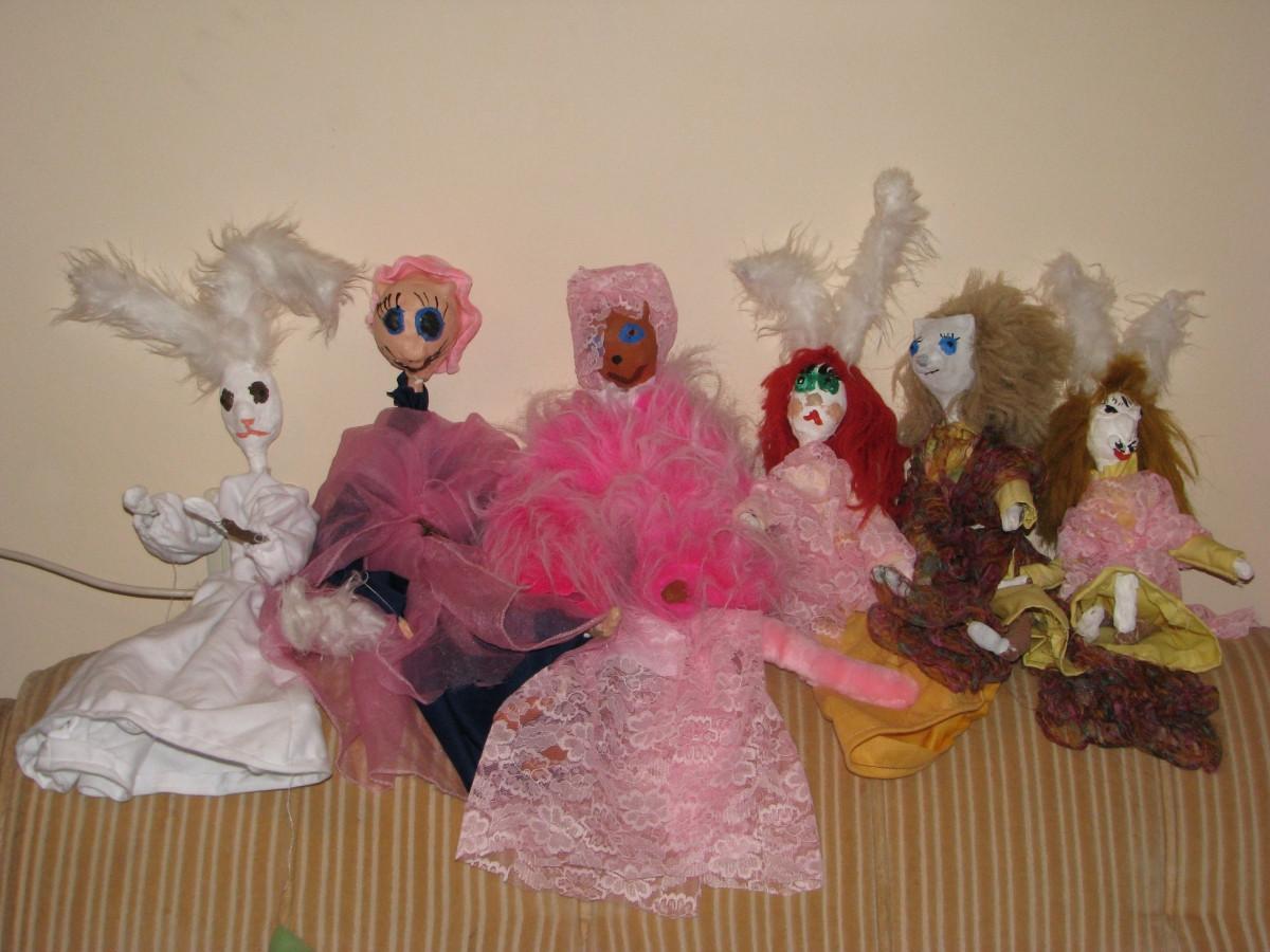 Lėlių gamyba