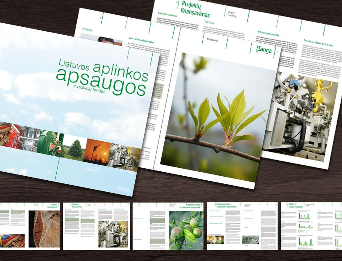 Brošiūra   Lietuvos aplinkos apsaugos investicijų fondas Brochure   Lithuanian Environmental Investment Fund