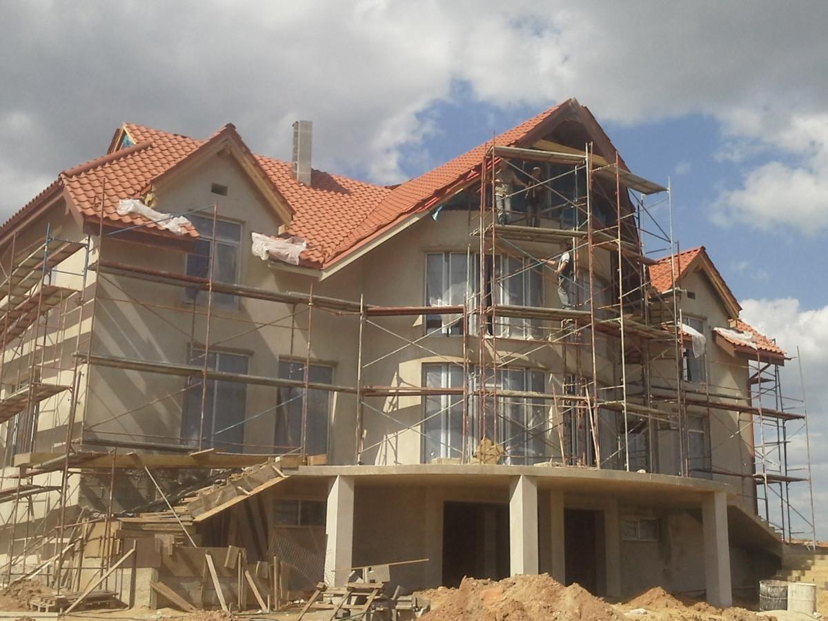 Cerpiniu stogu montavimas