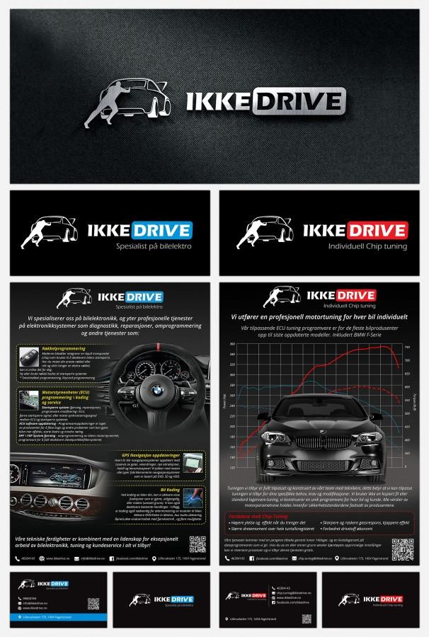 """Logotipų dizainas, plakatai, vizitinių kortelių dizainas ir brošiūra (http://issuu.com/karolisrimkus/docs/coding_list_web) įmonei iš Norvegijos užsiimančiai automobilių elektronikos remontu ir """"Chip tiuningu"""""""
