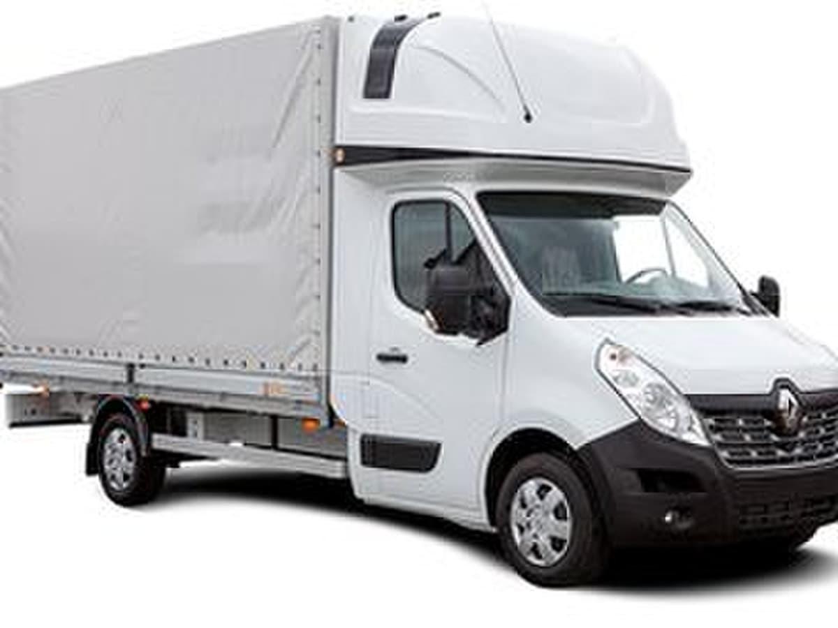 Vežamas svoris – iki 1500 kg. Tentinis krovininis mikroautobusas su bortais. Galima įkrauti ir per galą ir per šonus. Telpa 8 euro paletės. Matmenys: ilgis - 4.40m, aukštis - 1.80m, plotis - 2.20m.