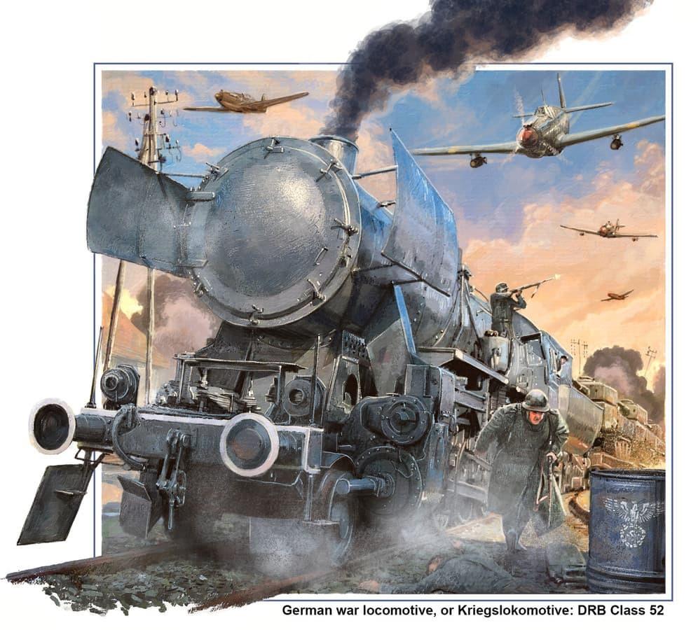 Antrojo pasaulinio karo laikų garvežys TE-52 (DRB 52)