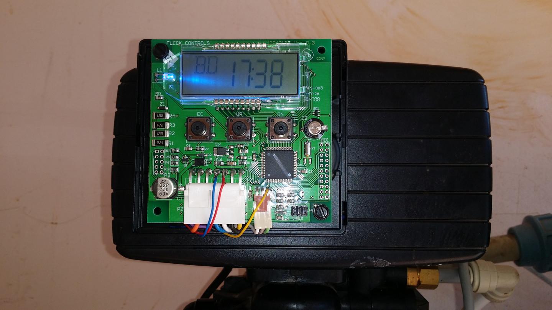 Fleck valdymo vožtuve integruotas kompresoriaus valdiklis