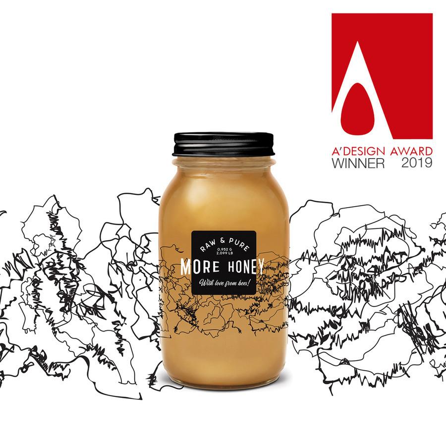 More Honey etiketės