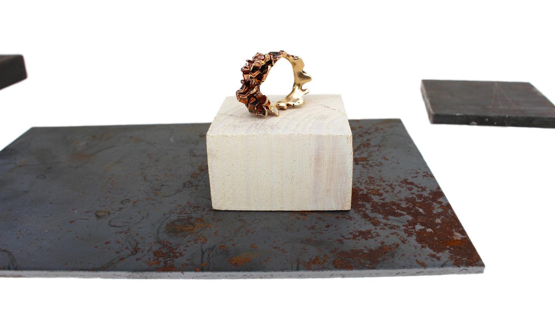 "New ring collection ""Wavy"" https://www.facebook.com/Kartot%C4%97-331069847033564/"