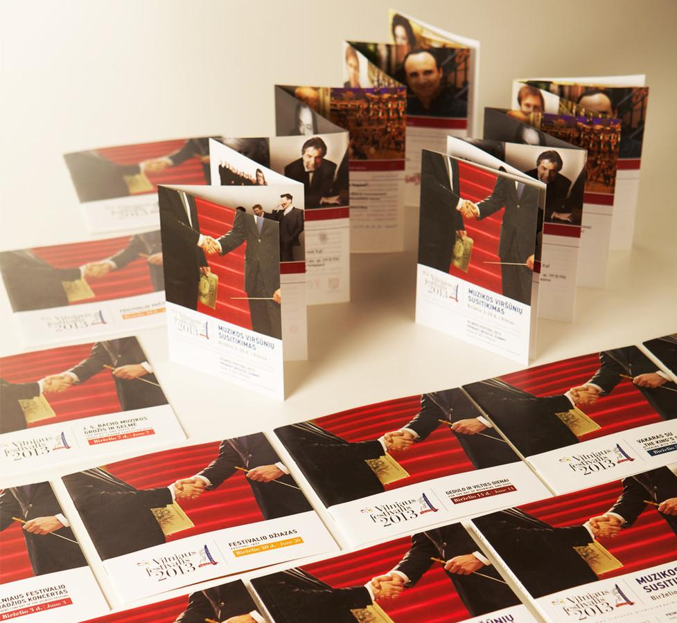 Bukletai ir lankstukai / Brochures   Vilniaus festivalis / Vilnius festival   Lietuvos nacionalinė filharmonija/ Lithuanian National Philharmonic Society