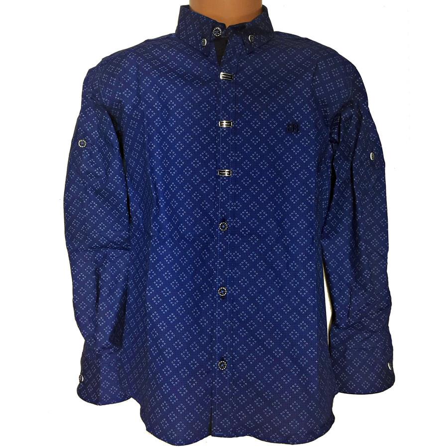 Stilingi marškiniai https://irmaziems.lt/marskiniai-berniukams/stilingi-marskiniai.html Dydžiai (nemažinti): 140, 146, 152, 158, 164, 170
